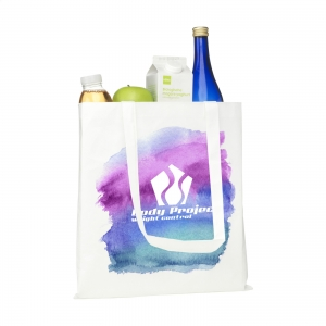 An image of Full Colour Print Advertising Sublimation Shopper shopping bag