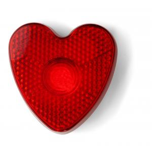 An image of Heart shaped safety light