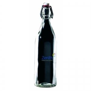 An image of 1 Litre Reusable Flip Top Water Bottle - Square