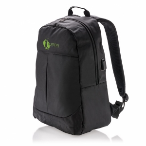 """An image of Power USB 15"""" Laptop Backpack"""