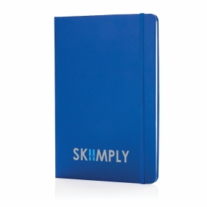 An image of blue Customised A5 Classic Hardcover Sketchbook