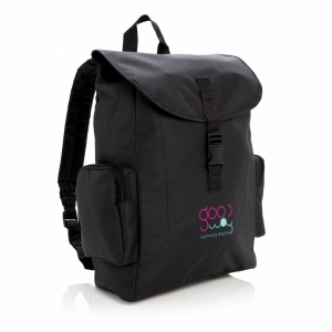 An image of Advertising 15.6 Laptop Backpack With Buckle