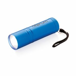 An image of blue Custom Printed COB Torch
