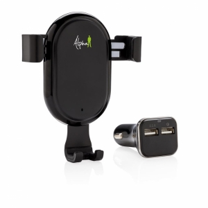 An image of 10W Wireless Car Charging Set