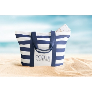 An image of Blinky Stripes Beach Bag Striped