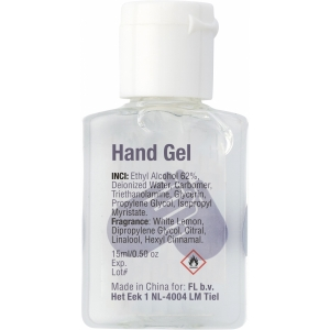 An image of 15ml Hand sanitizer gel.