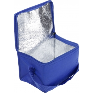 An image of White Promotional Nonwoven small cooler bag.