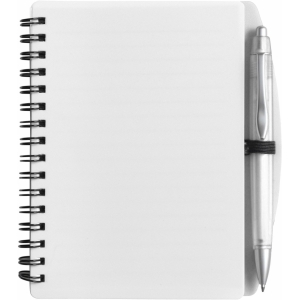 An image of Advertising A6 Wire bound notebook and ballpen