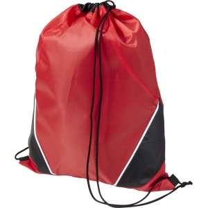 An image of Advertising Polyester (210D) drawstring backpack