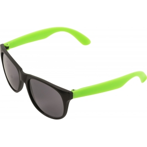 An image of Red Corporate PP sunglasses with coloured legs