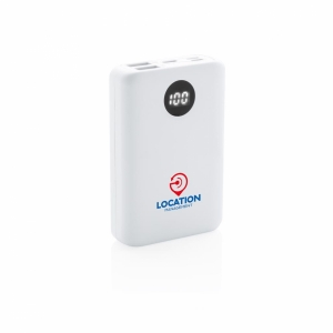 An image of 10.000 MAh Pocket Powerbank With Triple Input