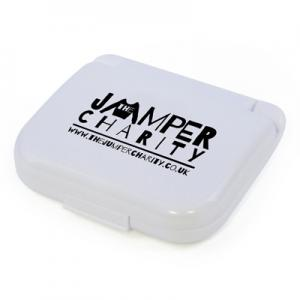 An image of White Promotional Compact Sewing Kit