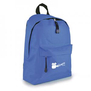 An image of Royal blue Marketing Polyester Backpack