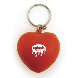 An image of Stress Heart Keyring