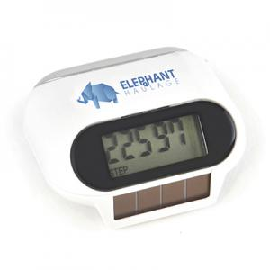 An image of Branded Solar Powered Pedometer