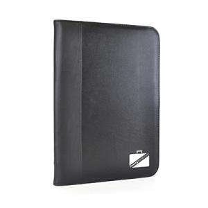 An image of Black Advertising Pickering A4 Zipped Calculator folder