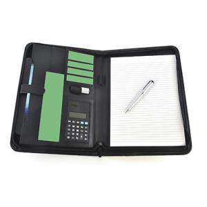 An image of Advertising Pickering A4 Zipped Calculator folder