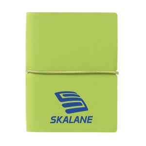 An image of Bright Green Logo Pocket A7 notebook