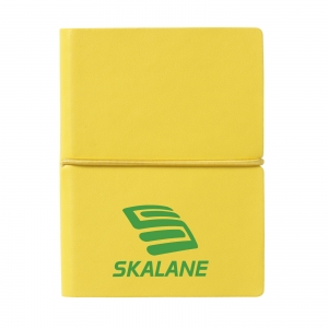 An image of Yellow Logo Pocket A7 notebook