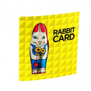 An image of Easter Chocolate Rabbit card