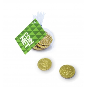 An image of Full colour Handouts Chocolate coins