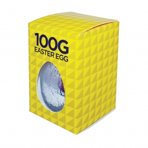 An image of 100g Milk Chocolate Easter egg