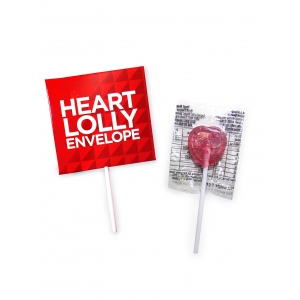An image of Imprint Valentines Heart Lolly