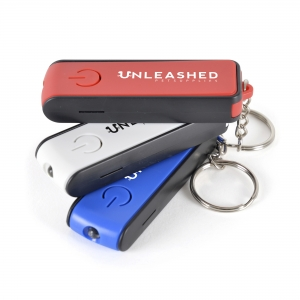 An image of Red Corporate LED Keyring Torch