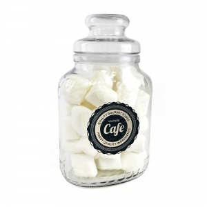 An image of Classic Sweet Jar With Marshmallows