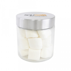 An image of Large Glass Jar With Marshmallows