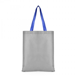 An image of Grey/blue Advertising Two Tone Shopper