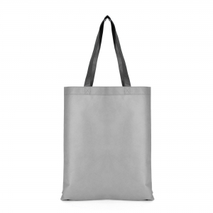 An image of Grey/Black Advertising Two Tone Shopper